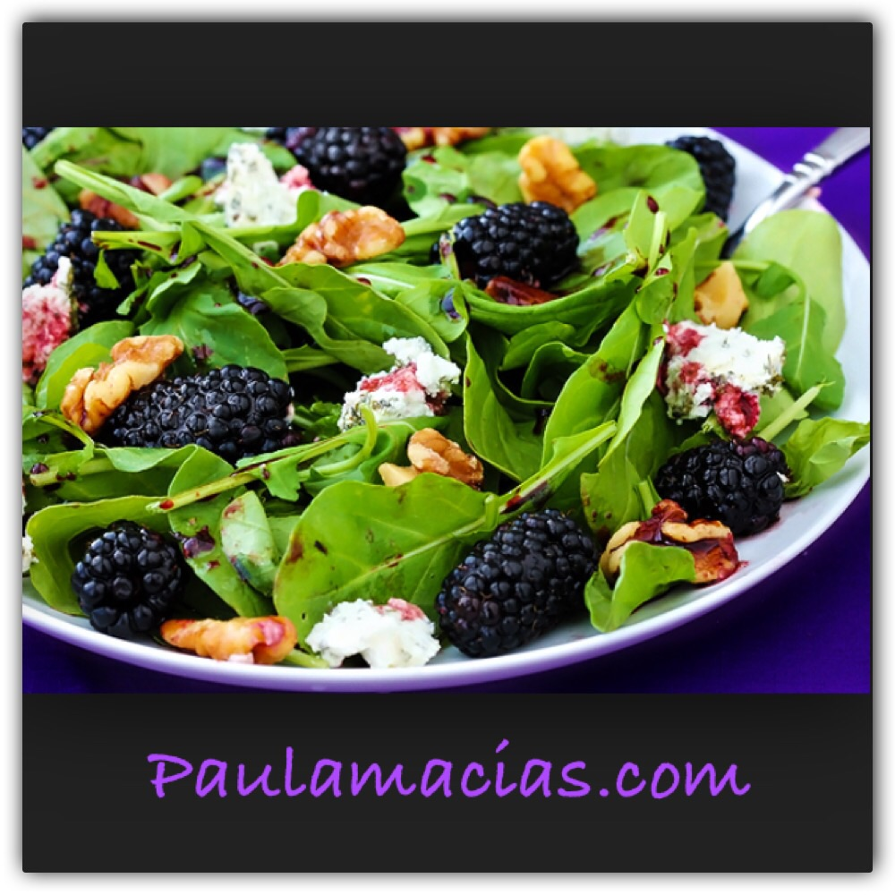 Blackberry Spinach Salad | CoachHollywood Fitness